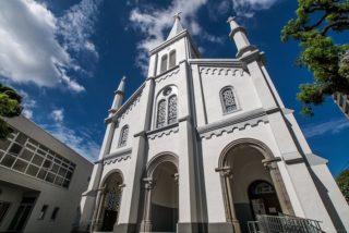 「中町教会」~【この教会は、世界中の愛でみちている。】