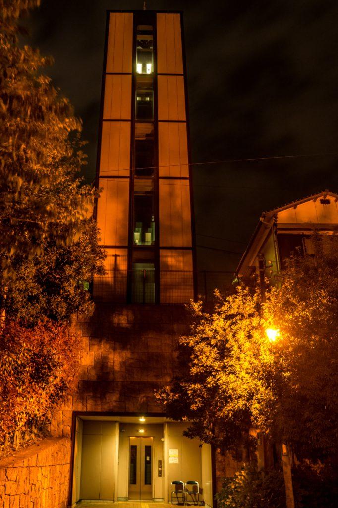 夜のグラバースカイロード