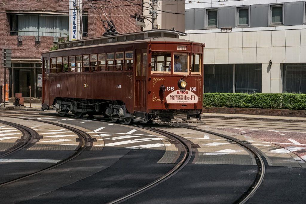 路面電車「168号」