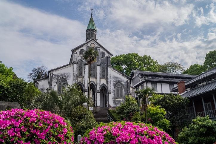 大浦天主堂(長崎市南山手)、世界遺産、国宝
