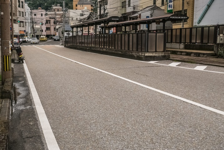 鍋冠山公園までの車でのルート(石橋電停)