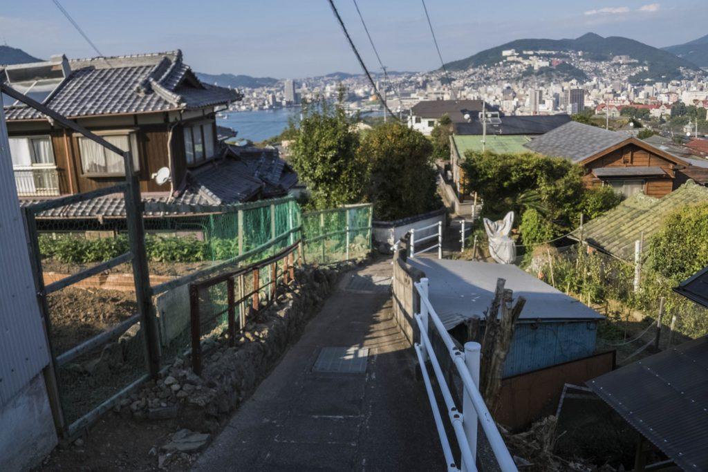 鍋冠山公園展望台の徒歩ルート