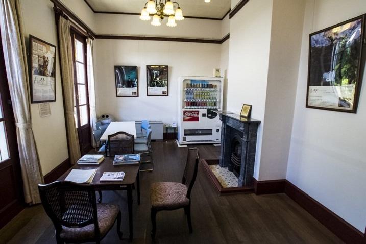 南山手レストハウス(旧清水氏住宅、南山手乙27番館)、長崎市の内装