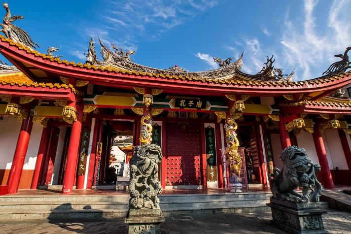 長崎孔子廟(長崎市大浦町)の儀門