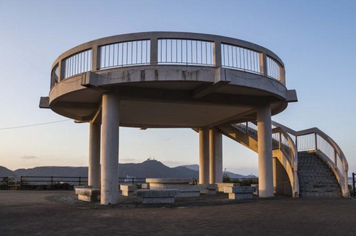 旧鍋冠山公園展望台