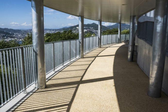 鍋冠山公園展望台(長崎市)