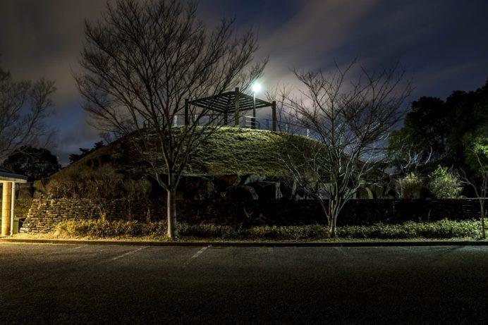 夜の唐八景公園