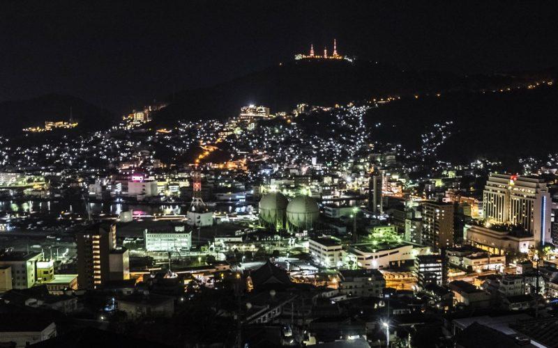 立山からの新世界三大夜景、長崎の夜景