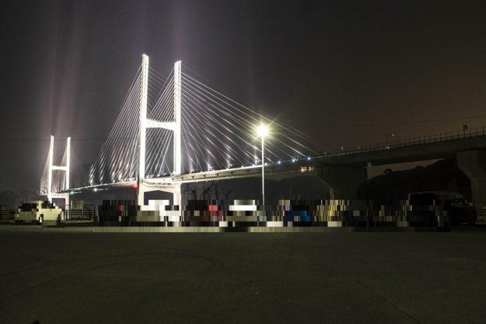 女神大橋の駐車場