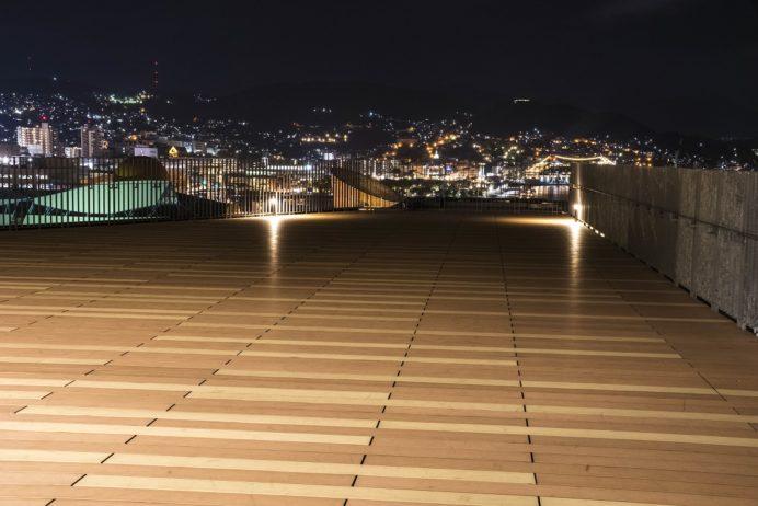 長崎県庁8階展望テラス