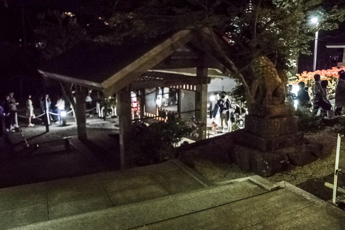 長崎ロープウェイの大行列