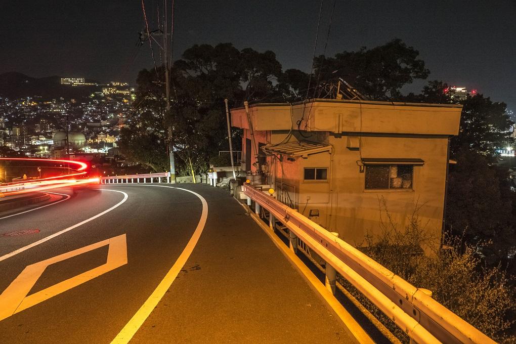 稲佐公園前・曙町からの長崎の夜景