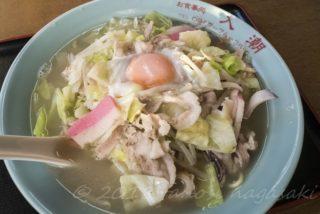 「お食事処 入潮」【激ウンマッーーーースープ】の小浜ちゃんぽん!一度は味わうべき逸品