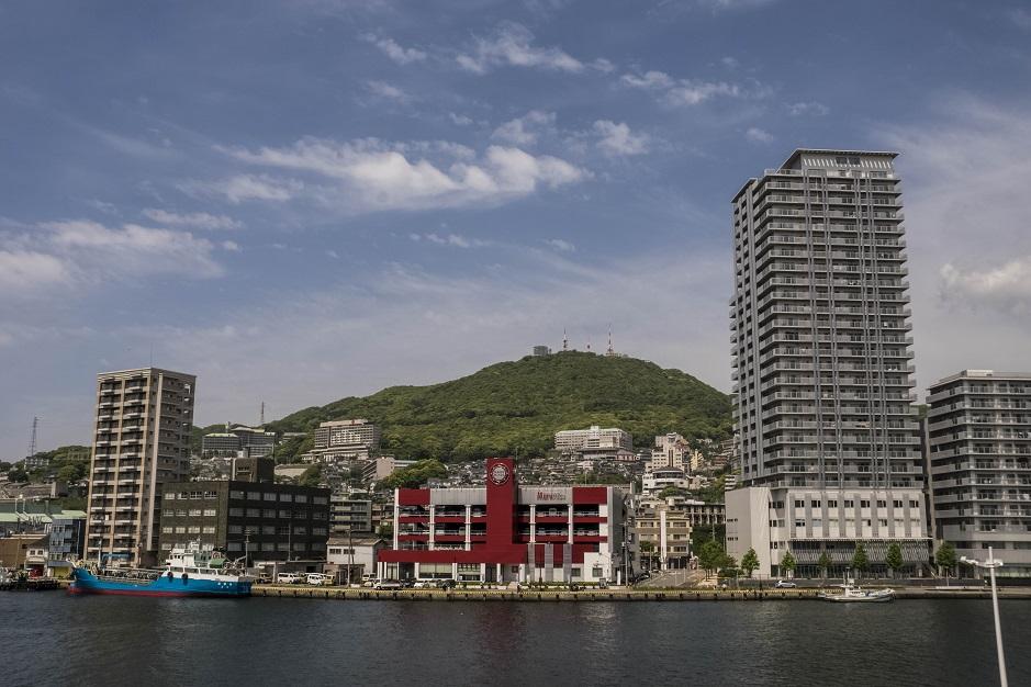 長崎県庁新庁舎からの絶景