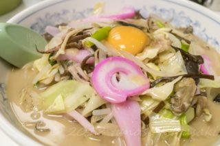 「三八ラーメンでちゃんぽん」~【ガツン系豚骨スープが脳天直撃!】