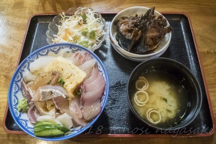 平戸・西端夢浪漫の勝手丼