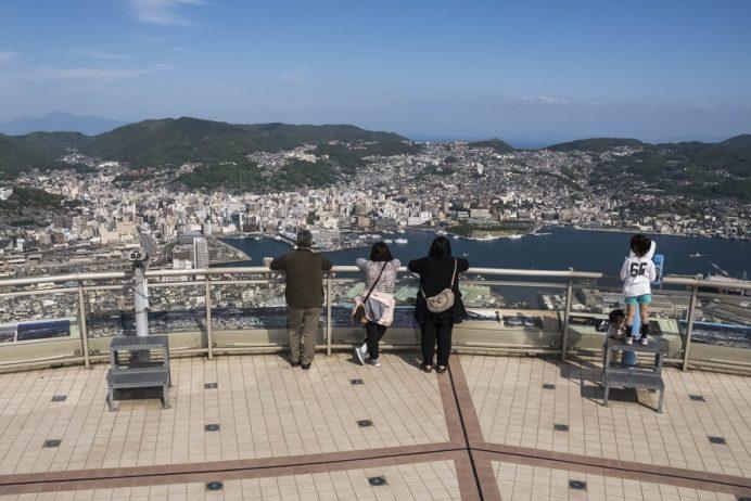 稲佐山展望台からの絶景