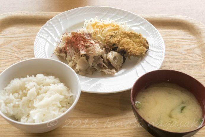 長崎県庁レストラン シェ・デジマの日替りランチ