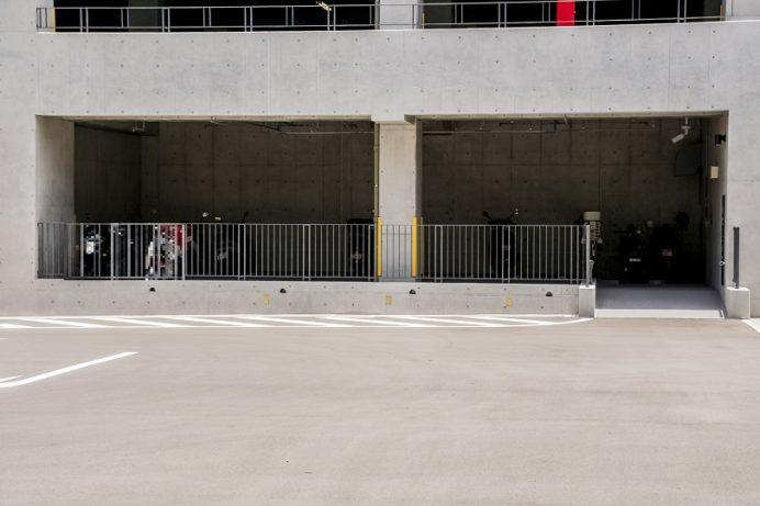 長崎県庁駐輪場