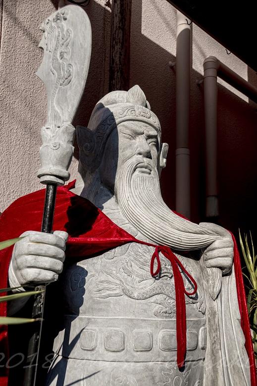 中華菜館 春夏秋冬(長崎新地中華街)の関帝像