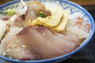 平戸|西端夢浪漫~「勝手丼」。刺身をドカンと盛り放題!ルールも解説
