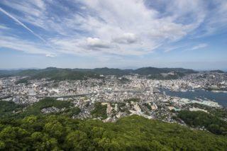 稲佐山|昼の景色がビューティフォーーッ!!【世界遺産が見放題】