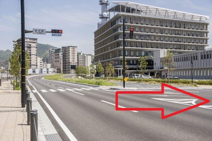 長崎県庁へのアクセス・駐車場