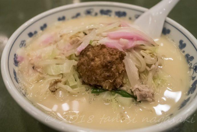 江山楼の什景湯麺(上ちゃんぽん)