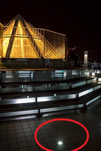 稲佐山展望台のハートライト