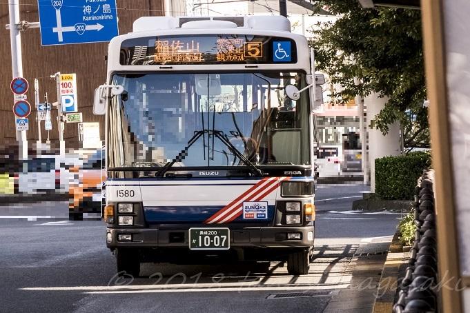 稲佐山行き路線バス