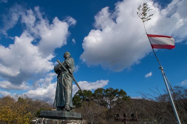 坂本龍馬之像(風頭公園)