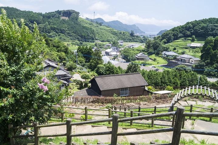 天草・大江の集落