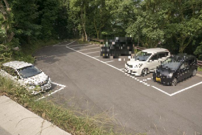 鍋冠山公園展望台(長崎市出雲)の駐車場
