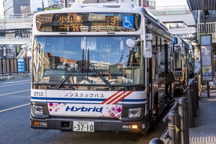 長崎ロープウエイ行き路線バス