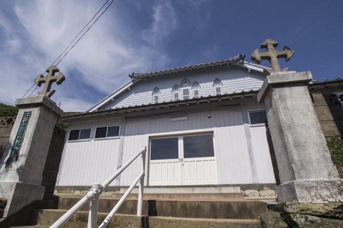 江袋教会(長崎県南松浦郡新上五島町)