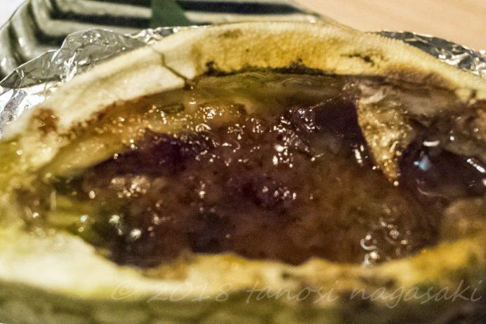 いけす割烹 心誠(長崎県五島市福江町)のハコフグの味噌焼き(かっとっぽ)