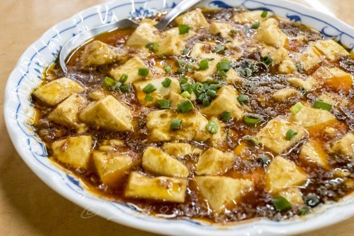 龍園の麻婆豆腐