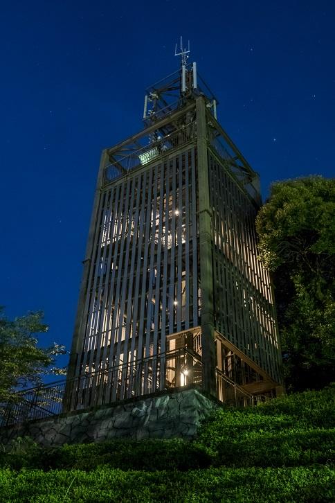 中尾城公園展望台(長与町丸田郷中尾)