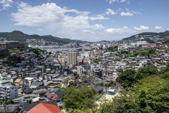 出雲近隣公園(長崎市)からの風景