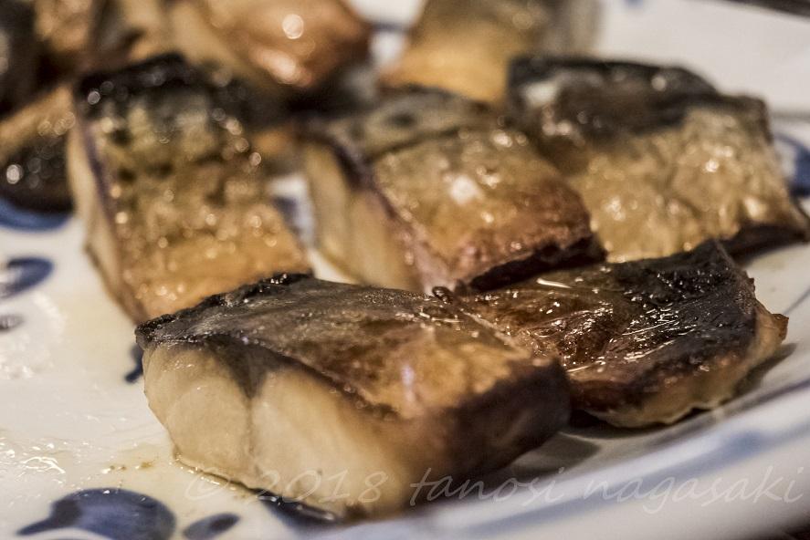 海の駅 船番所(長崎県西海市)の焼き魚