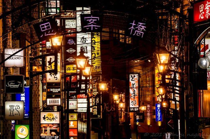 長崎・思案橋のネオン