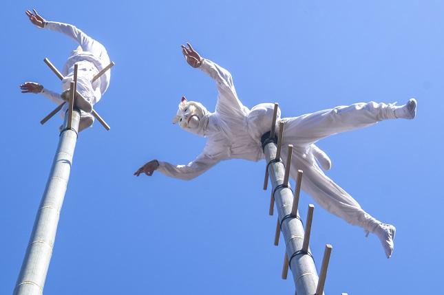 竹ン芸(若宮稲荷神社例大祭)、長崎市