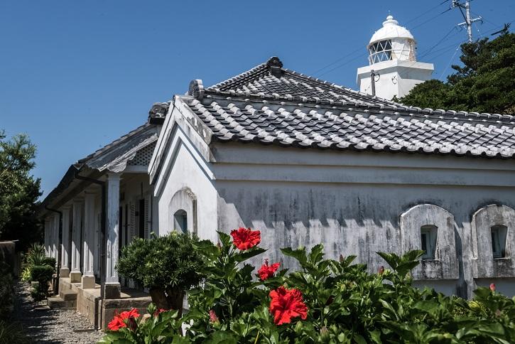 伊王島灯台記念館(伊王島灯台旧吏員退息所)、長崎市