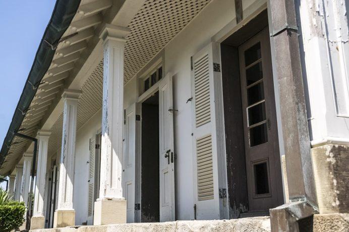 伊王島灯台記念館(伊王島灯台旧吏員退息所)