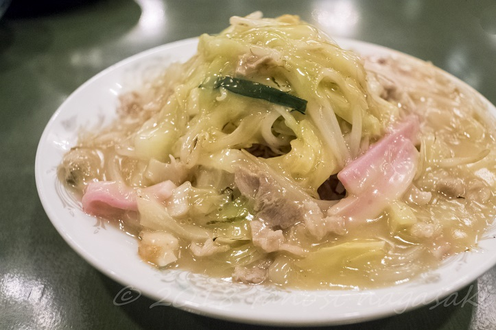 江山楼の皿うどん(細麺)