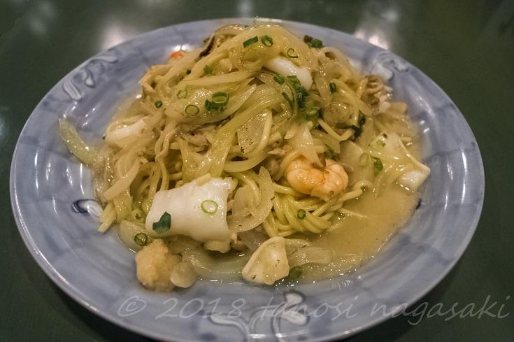 江山楼の海鮮拌麺~海鮮パンメン