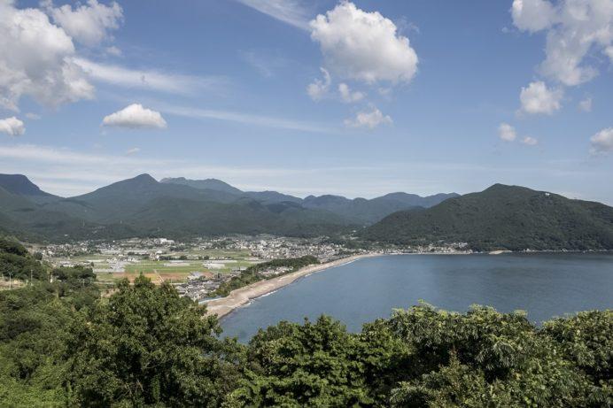 千々石展望台(長崎県島原半島雲仙市)の絶景