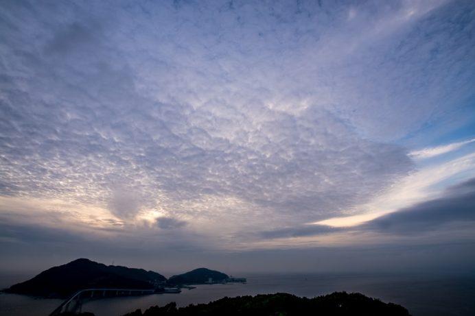 香焼総合運動公園からの夜景