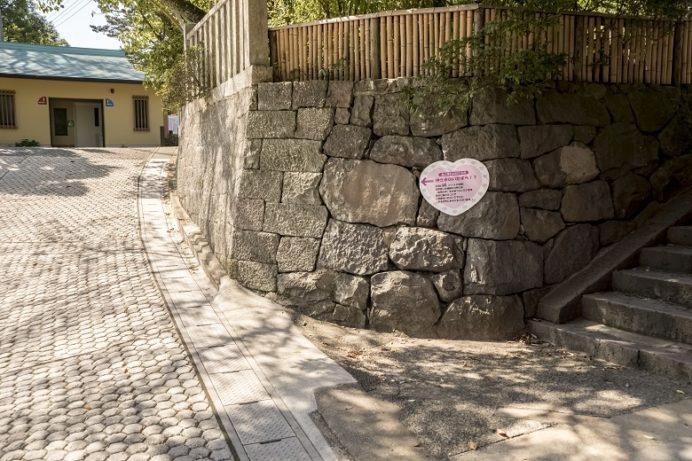 鎮西大社 諏訪神社(長崎市上西山町)のハートストーン