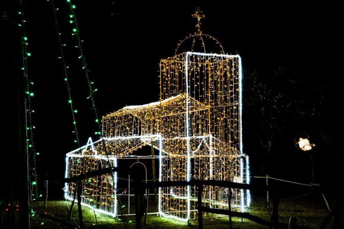 光のフェスタ (平戸市県立田平公園のイルミネーション)、田平教会